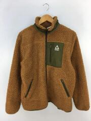 フリースジャケット/M/ポリエステル/CML/ZP361597