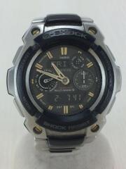 ソーラー腕時計・G-SHOCK/デジアナ/SLV