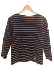 長袖Tシャツ/1/コットン/ブルン/ボーダー/H18 950337