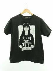 the down be long/Tシャツ/M/コットン/BLK