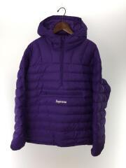 20FW/micro down half zip hooded pullover/XL/ポリエステル/PUP