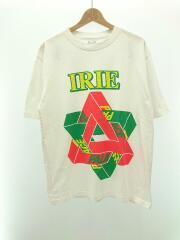 Tシャツ/L/コットン/WHT/パレス
