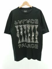 Tシャツ/L/コットン/BLK/パレス