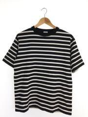 Tシャツ/1/コットン/WHT/ボーダー/コモリ