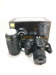 デジタル一眼カメラ D3400 ダブルズームキット 一眼レフ デジカメ 望遠レンズ