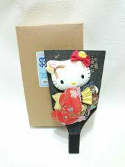 はろうきてぃの日本人形/羽子板/BLK