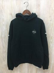 パーカー/NUMBERING PULL OVER SWEAT/S/コットン/BLK