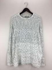 セーター(薄手)/2018SS/M/コットン/GRY/NUC81KT0227TN