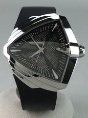 自動巻腕時計/アナログ/ラバー/BLK/BLK/H246551