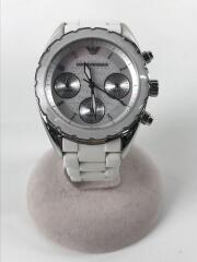 エンポーリオアルマーニ/腕時計/アナログ/中古