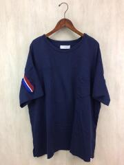 17SS/RIB BIG TEE/CHG-TEE-U03/半袖カットソー/00/コットン/NVY