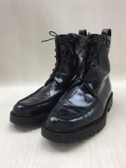 ブーツ/40.5/ブラック/Uチップブーツ