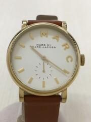 クォーツ腕時計/アナログ/BRW/ブラウン/中古/セカンドストリート
