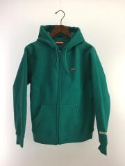 19AW/WINDSTOPPER Zip Up Hooded/ジップパーカー/S/ポリエステル/GRN