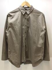 ワイドフィット オーバーサイズシャツ/597-7253005/長袖シャツ/38/コットン/BEG