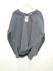 THE NEW ORDER/SASHIKO SHORT PULLOVER/パーカー/XL/コットン/黒/プルオーバー