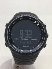 クォーツ腕時計/デジタル/--/BLK/電池切れ/キズ有