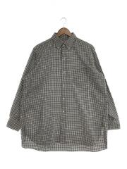 20SS/PoloCollar Shirt/KSBP20SSH01/ボタンダウンシャツ/長袖シャツ/40