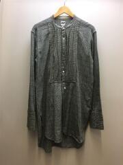 18AW/TAX SHIRT/タキシードシャツ/長袖シャツ/M/コットン/GRY