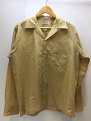 PENN-PREST/70s/オープンカラーシャツ/長袖シャツ/M/CML