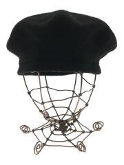 バスク ベレー帽/--/ウール/BLK/93-41-0254-862