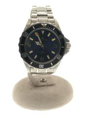CD-1180.クォーツ腕時計/アナログ/ステンレス/NVY/SLV/