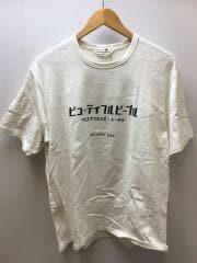 カタカナロゴTEE/長袖Tシャツ/190/コットン/WHT/7016310412