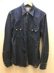 1955 Sawtooth Denim Shirt RIGID/リジッド デニムウエスタンシャツ/M/コットン