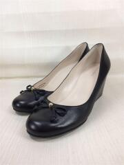 パンプス/US8.5/BLK/レザー/Elsie Bow Wedge Pump/H16 W06105