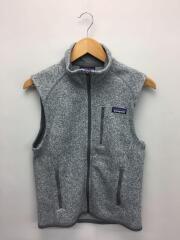 Better Sweater Vest/ベターセーターベスト/フリースベスト/XS/ポリエステル/GRY