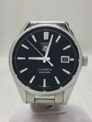 自動巻腕時計・カレラキャリバー5/WAR211A.BA0782/アナログ/ステンレス/BLK/SLV/carrera calibre5