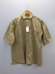 半袖シャツ/19S-WS-004/40/コットン/BEG/無地
