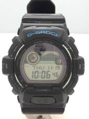 ソーラー腕時計・G-SHOCK/デジタル/ラバー/BLK/BLK/全体スレ・汚れ有