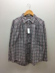 18SS/Painter Shirt/カップショルダー/長袖シャツ/M/第7ボタン部分破れ