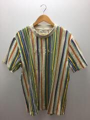 Tシャツ/L/コットン/マルチカラー/OLD/汚れ有/