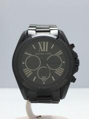 クォーツ腕時計/アナログ/ステンレス/BLK/BLK/MK-5550
