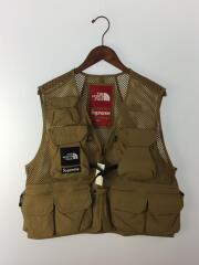 20SS/Cargo Vest/ナイロンベスト/S/ナイロン/CML/無地/NP22003I