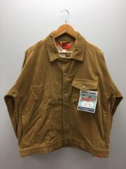 ジャケット/L/コットン/CML/無地/U933471SM/太畝コーデュロイジャケット