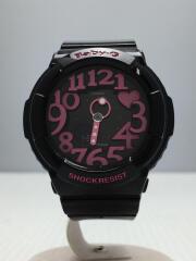 クォーツ腕時計・Baby-G/デジアナ/BLK/BGA-130