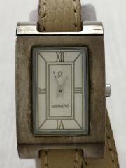 ミキモト/NNS-8029F/クォーツ腕時計/アナログ/中古