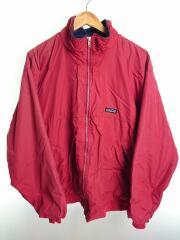 ナイロンジャケット/XL/RED/フリース