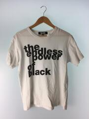 ブラックコムギャルソン/1Z-T002/Tシャツ/M/コットン/WHT/白/中古