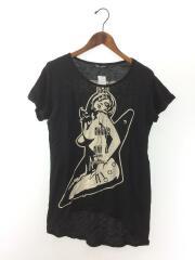 Tシャツ/FREE/コットン/BLK