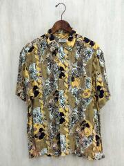 アロハシャツ/--/レーヨン/YLW/黄色/総柄