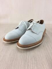 ドレスシューズ/UK6.5/25.0㎝相当/WHT/白/ヌバック/革靴/pod6391