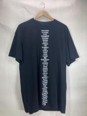Tシャツ/XS/コットン/BLK//  プリント