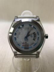 腕時計/アナログ/--/WHT/WHT