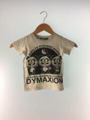 Tシャツ/90cm/コットン/GRY