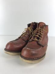 ブーツ/27cm/ブラウン/レザー/9106