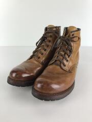 BECKMAN/ブーツ/26.5cm/キャメル/レザー/9013